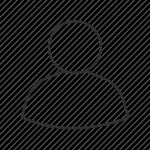 generic user, unisex avatar, user, user photo icon
