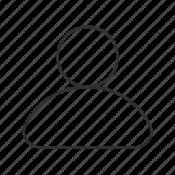 avatar, generic user, unisex avatar, user, user photo icon