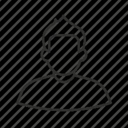 avatar, boy, fohawk, male, man, single user, user icon