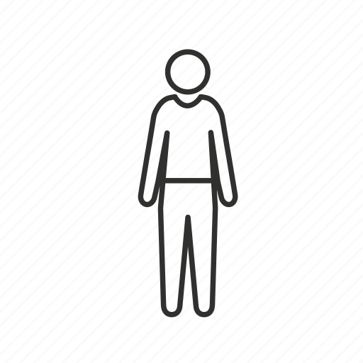 avatar, boy, male, man, single user, standing, user icon