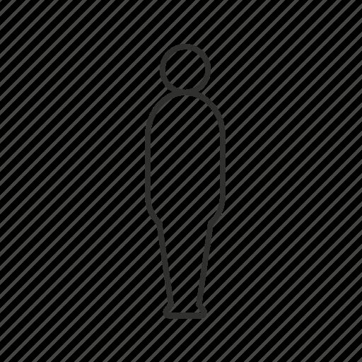 avatar, single user, standing, unisex, user icon