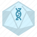 disorder, gene, genetics, therapy, transfer, viral, virus icon