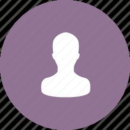 account, avatar, human, login, man, profile, user icon