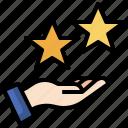 star, thumbs, up, like, good, finger