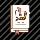 book, comics, genre, knowledge, library, literature, manga icon