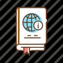 book, encyclopedia, genre, knowledge, library, literature icon