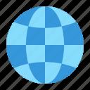 earth, geography, globe, web, world icon