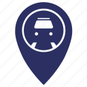 geo, metro, metropolitan, point, station icon
