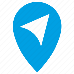 geo, gps, location, map, move, place, point icon