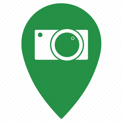 camera, gps, location, photo, photography, place, point icon