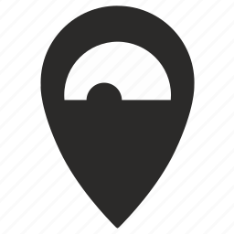geo, location, place, point, road, tunnel, way icon