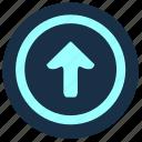 arrow, forward, geo, go, position, top