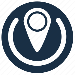 geo, location, point, position icon