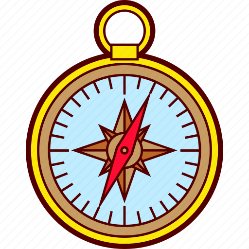 compass, direction, gold, location, navigation icon