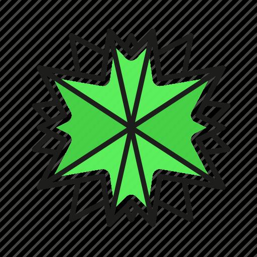 engineering, geometric, illustration, line, rays icon