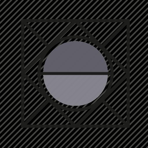 ball, engineering, geometric, illustration, line icon