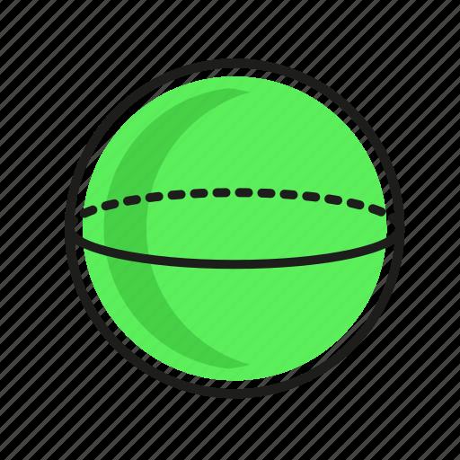 engineering, geometric, globe, illustration, line icon