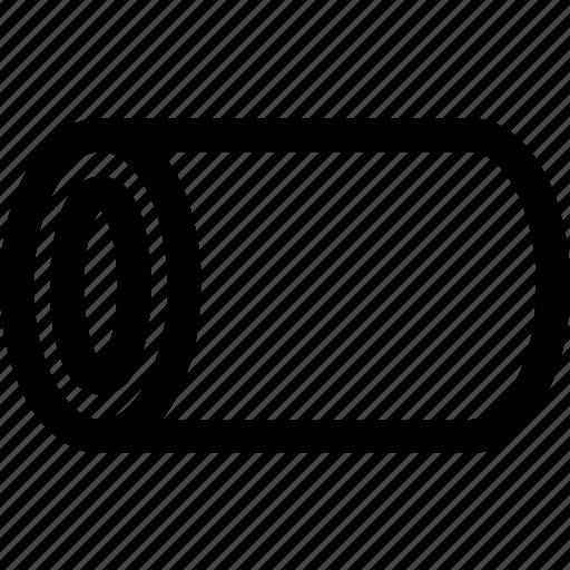 circle, cutout, cylinder, figure, geometry, round, shape icon