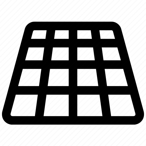 design, geometric, grid, pattern, perspective, squares icon