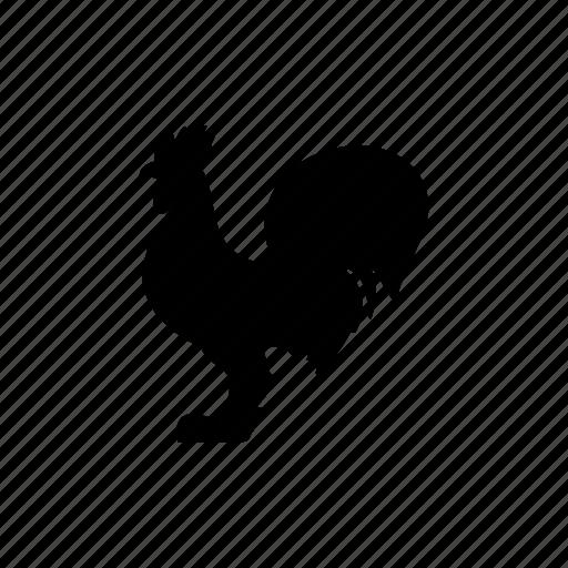 bird, chick, chicken, cock icon