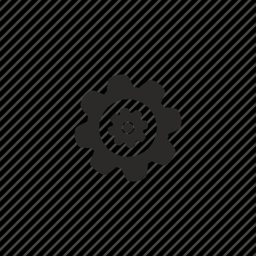 complex, detail, engine, gear, part, repair icon