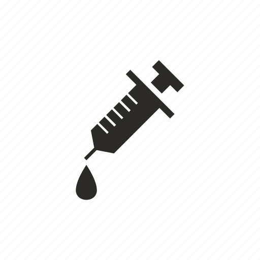 drop, injection, instrument, treatment icon