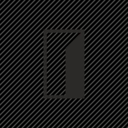 door, enter, exit icon