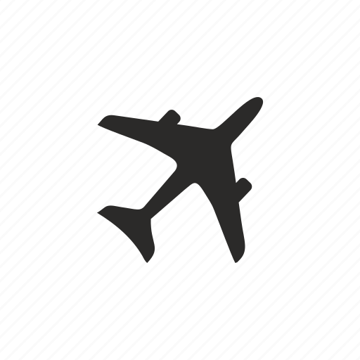 aeroplane, airbus, airlines, fly icon