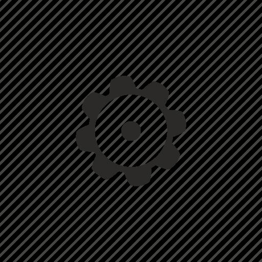 detail, gear, part, repair icon