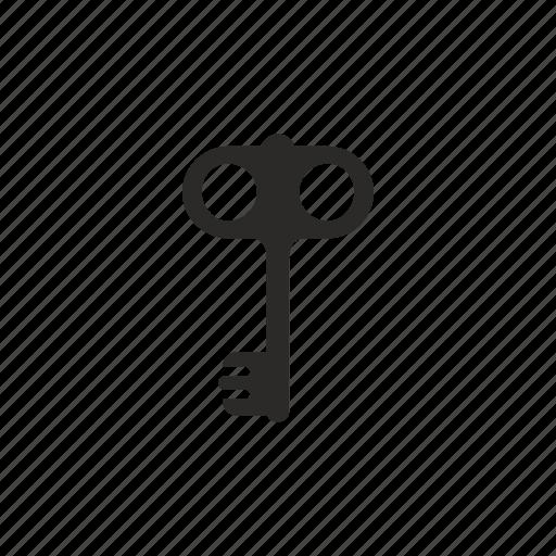 classic, key, lock icon