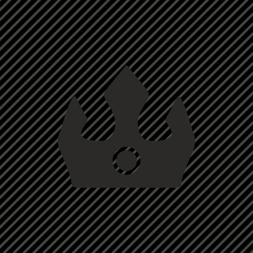 crown, lord, royal, viking icon