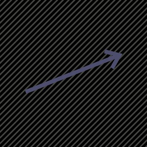 arrow, figure, geometry icon