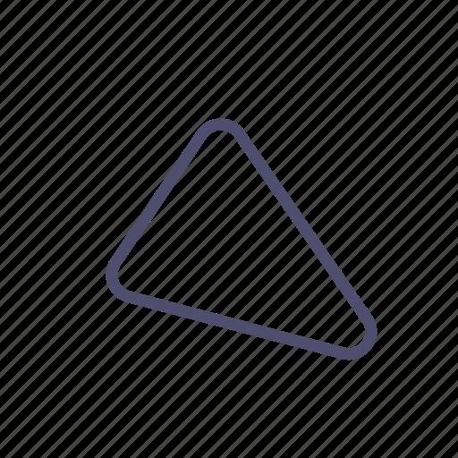 figure, geometry, triangle icon