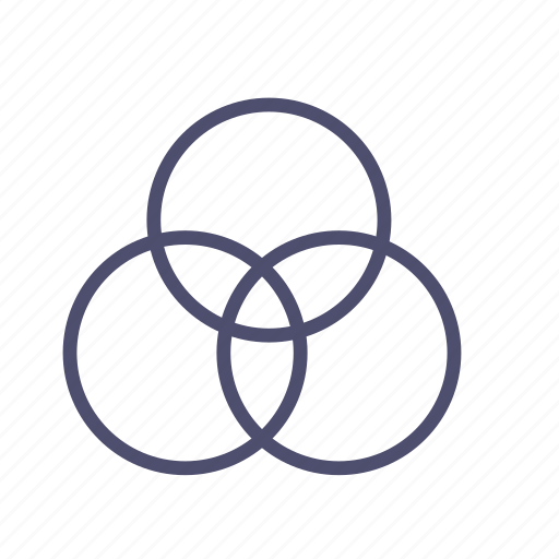 circle, drawing, figure, geometry icon