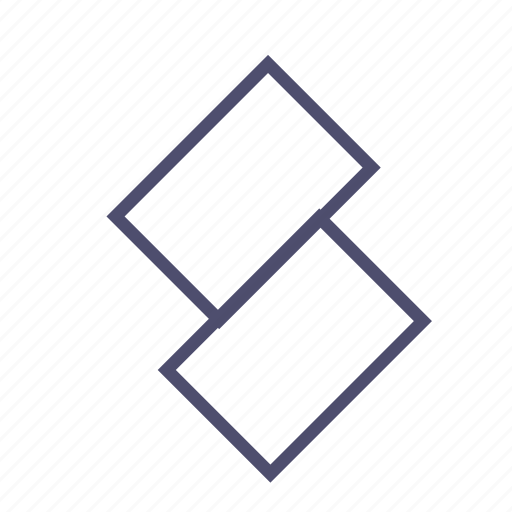 figure, geometry, rectangle, tile icon