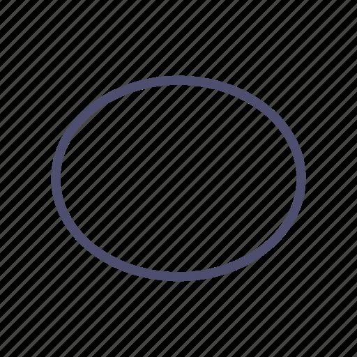 ball, circle, figure, geometry icon