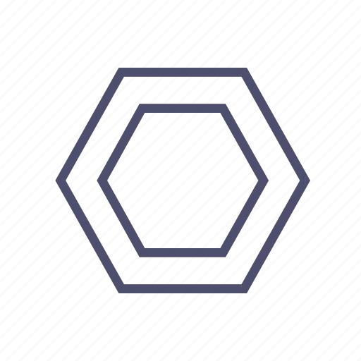 Figure, geometry, hexagon, polygon icon - Download on Iconfinder