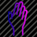 fingers, hand, raise, raising, wave