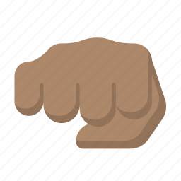 african, bump, fight, fist, rights icon