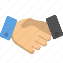 business, deal, handshake icon