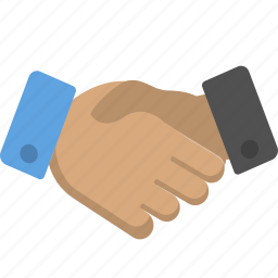 business, deal, handshake icon