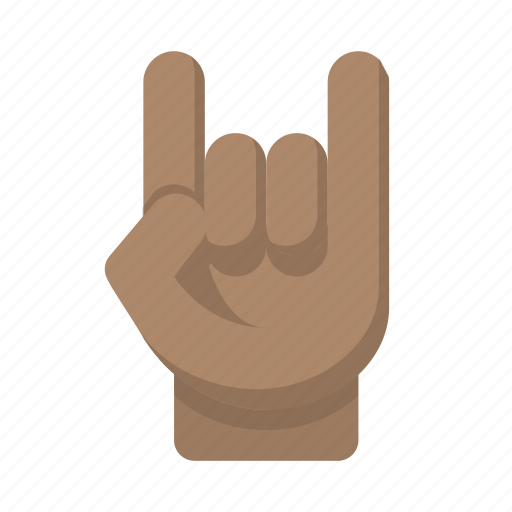 concert, gesture, party, rage, rock on icon