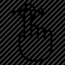 hand, horizontal, horizontal scroll, scroll, swipe left, tap icon