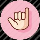 gesture, gestures, shaka, sign, surf, surfing icon