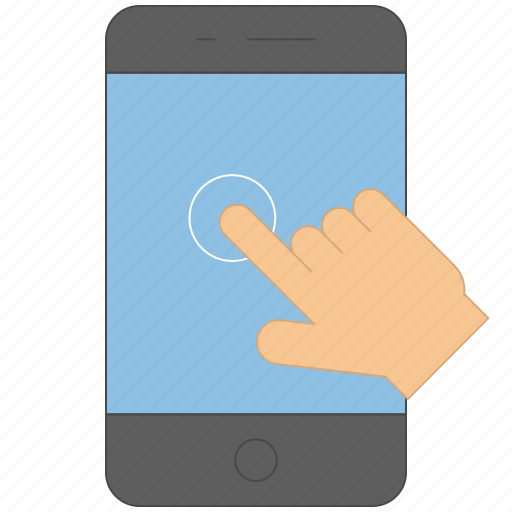 control, device, gesture, handheld, swipe icon