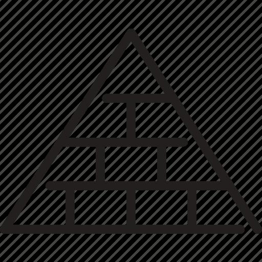 build, mason, network marketing, pyramid, pyramid scheme, scheme icon