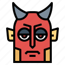 devil, halloween, scary, spooky icon