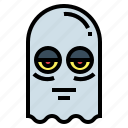 ghost, horror, paranormal, spooky icon