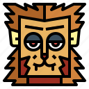 animal, halloween, monster, werewolf icon