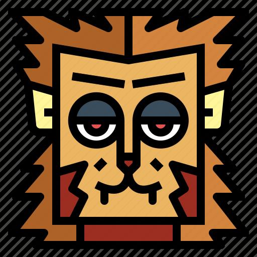 animal, halloween, monster, werewolf icon